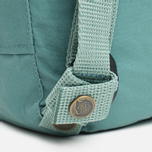 Рюкзак Fjallraven Kanken Mini Frost Green фото- 7