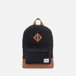 Детский рюкзак Herschel Supply Co. Heritage Kids Black фото- 0