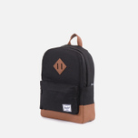 Детский рюкзак Herschel Supply Co. Heritage Kids Black фото- 1