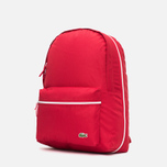 Рюкзак Lacoste Backcroc Red фото- 1