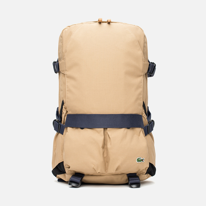 Рюкзак Lacoste Live Basic Multiple Pockets Tannin Nine Iron
