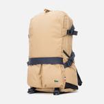 Lacoste Live Basic Multiple Pockets Backpack Tannin Nine Iron photo- 1