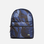 Рюкзак Lacoste Small Backpack Blue Mountain фото- 0