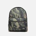 Рюкзак Lacoste Small Backpack Green Mountain фото- 0