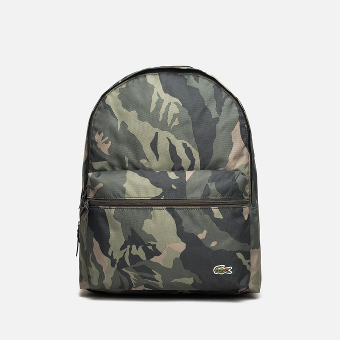 Lacoste Small Backpack Green Mountain