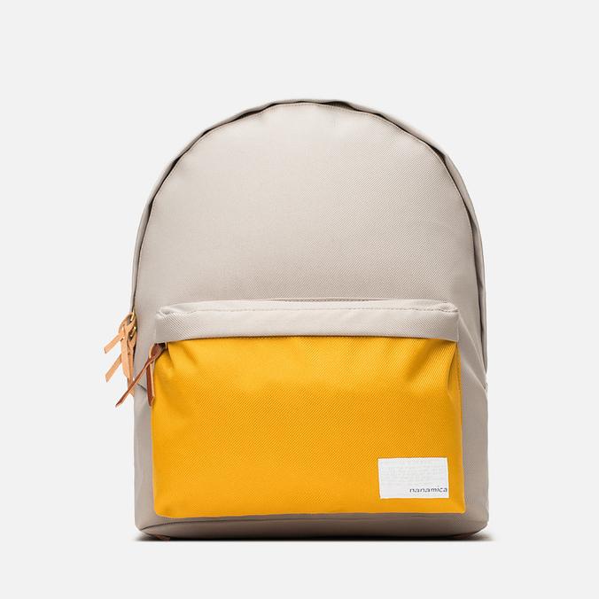 Рюкзак Nanamica Day Pack Beige/Yellow
