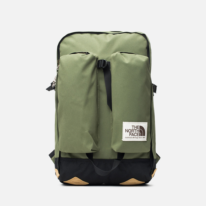 Рюкзак The North Face Crevasse Burnt Olive Green/Black