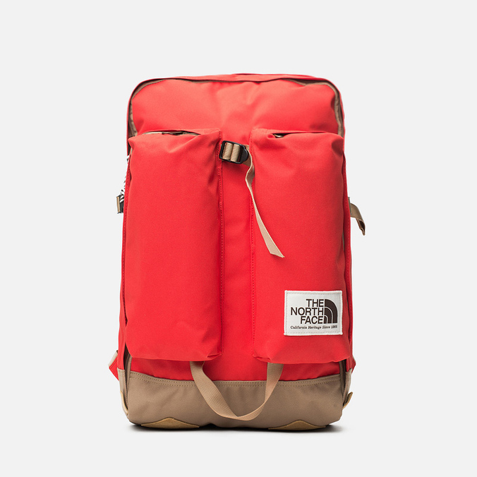 Рюкзак The North Face Crevasse Fiery Red/Moab Khaki