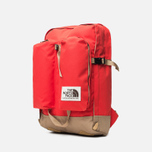 Рюкзак The North Face Crevasse Fiery Red/Moab Khaki фото- 1