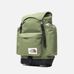 Рюкзак The North Face Rucksack Burnt Olive Green/Black фото- 1