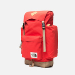 Рюкзак The North Face Rucksack Fiery Red/Moab Khaki фото- 1