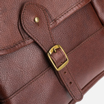 Сумка Barbour Leather Briefcase Brown фото- 6
