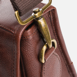 Сумка Barbour Leather Briefcase Brown фото- 7