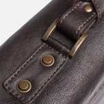 Сумка Barbour Leather City Dark Brown фото- 7