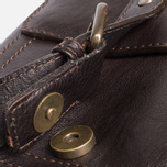 Barbour Leather City Bag Dark Brown photo- 6