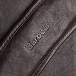 Barbour Leather City Tarras Bag Dark Brown photo- 10