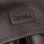 Barbour Leather City Tarras Bag Dark Brown photo- 4