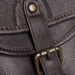 Barbour Leather City Tarras Bag Dark Brown photo- 5