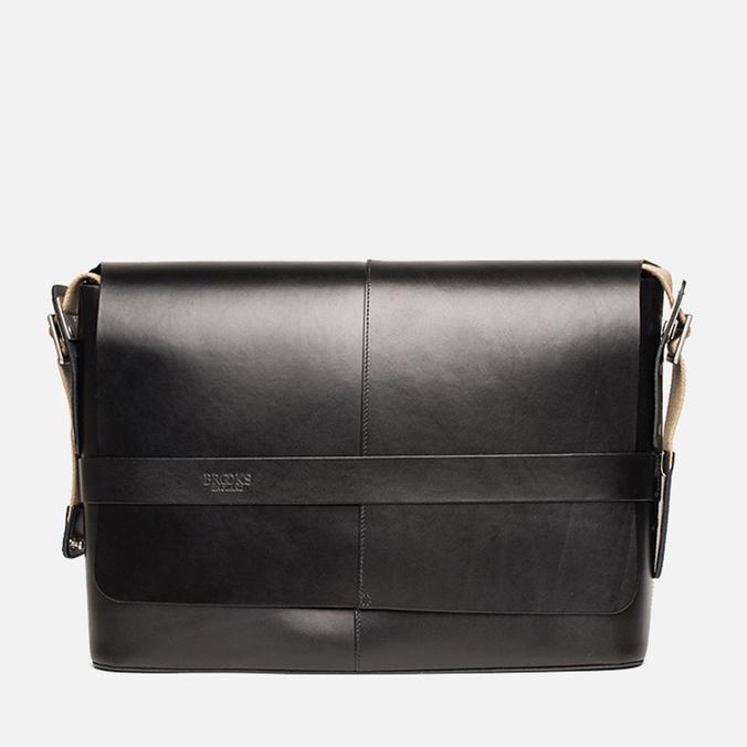Сумка Brooks England Barbican Medium Leather Black