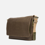Сумка Brooks England Barbican Messenger Medium Bag Moss фото- 1