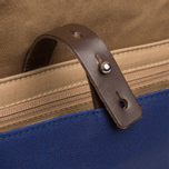 Brooks England Paddington Bag Blue photo- 9
