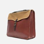 Filson Leather Brief Cognac photo- 1