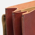 Filson Leather Brief Cognac photo- 8