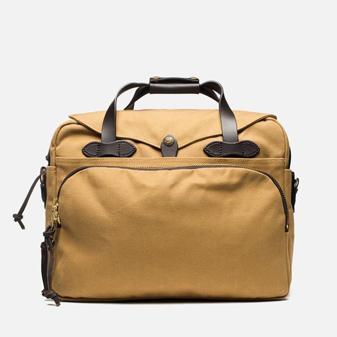 Filson Padded Computer Otter Bag Tan