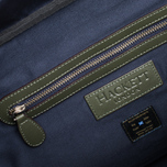 Дорожная сумка Hackett 18oz Waxed Holdall Navy фото- 8