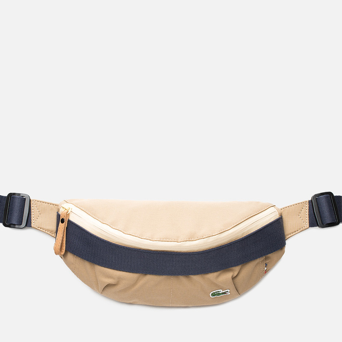Lacoste Live Small Body Waist Bag Tannin Nine Iron