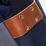 Nanamica Briefcase Bag Blue Gray/Navy/White photo- 11