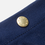 Nanamica Briefcase Bag Blue Gray/Navy/White photo- 9