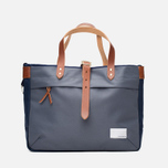 Сумка Nanamica Briefcase Blue Gray/Navy/White фото- 4