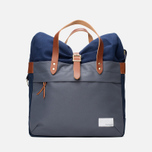 Сумка Nanamica Briefcase Blue Gray/Navy/White фото- 0