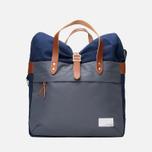 Nanamica Briefcase Bag Blue Gray/Navy/White photo- 0