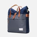 Nanamica Briefcase Bag Blue Gray/Navy/White photo- 1