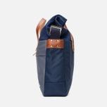 Nanamica Briefcase Bag Blue Gray/Navy/White photo- 2