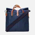 Nanamica Briefcase Bag Blue Gray/Navy/White photo- 3