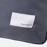 Сумка Nanamica Briefcase Blue Gray/Navy/White фото- 5