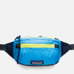 Сумка на пояс Patagonia Lightweight Travel Mini Hip Skipper Blue фото- 0
