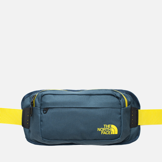 Сумка The North Face Bozer Hip Ink Blue/Acid Yellow