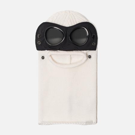 Балаклава C.P. Company Merino Wool Goggle Gauze White