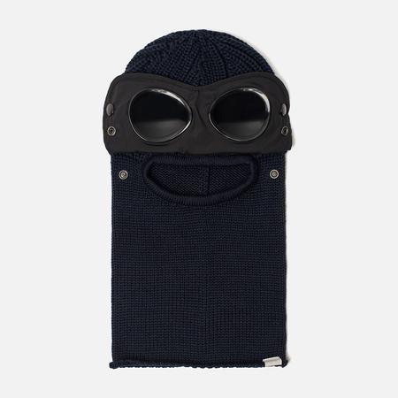 Балаклава C.P. Company Merino Wool Goggle Total Eclipse