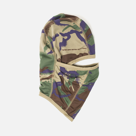 Maharishi Reversible Camo Barbouta Men's Hood Papal Woodland/Sand