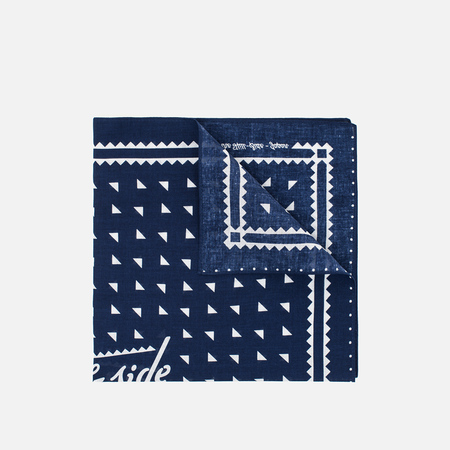 Бандана The Hill-Side Souvenir Classic Logo Navy
