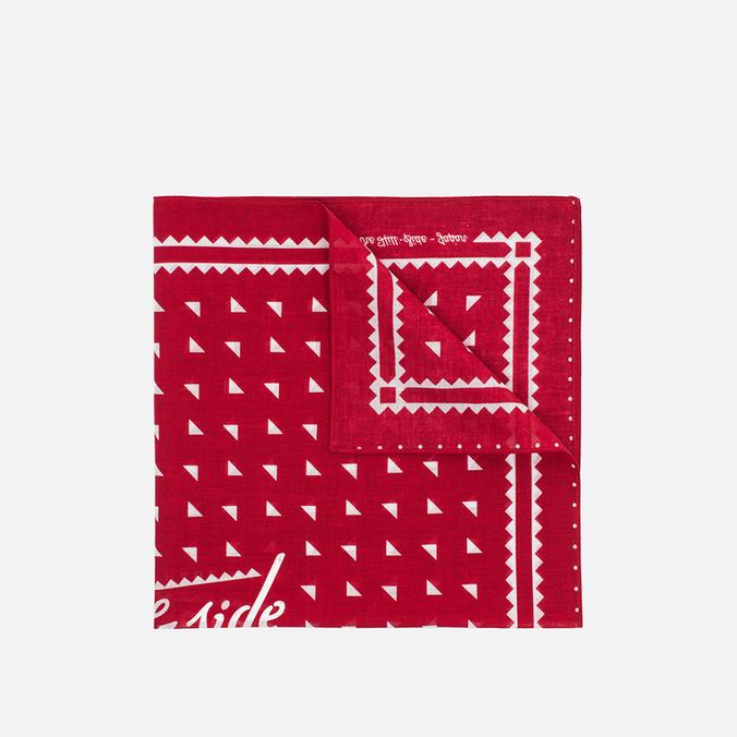 The Hill-Side Souvenir Classic Logo bandana Red