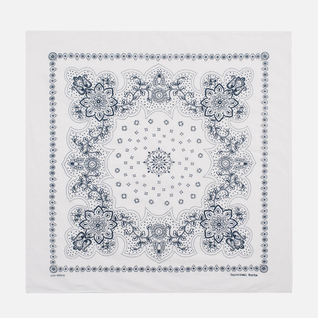 Бандана Universal Works Neckerchief Classic White