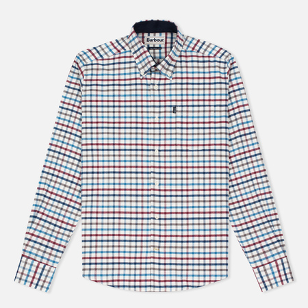 Barbour Albert Men's Shirt Crimson