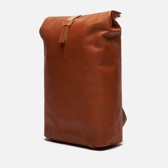 Рюкзак Brooks England Pickwick Leather Large Dark Tan Cognac