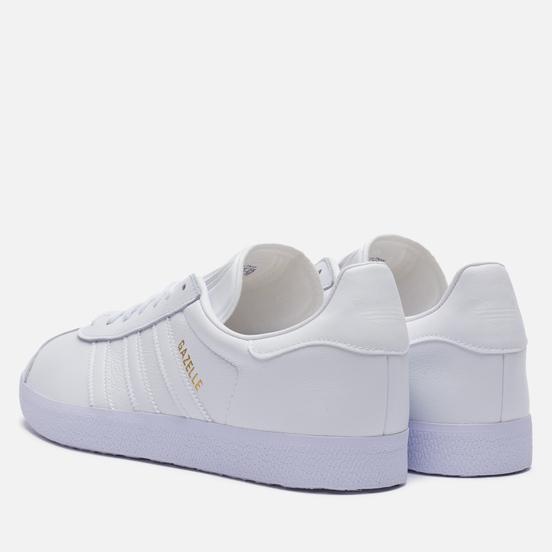 Кроссовки adidas Originals Gazelle Cloud White/Cloud White/Gold Metallic